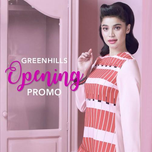 Greenhills Opening Promo