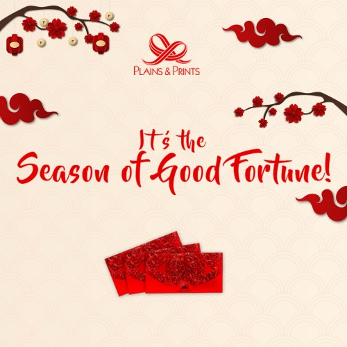 It's the Season of Good Fortune!