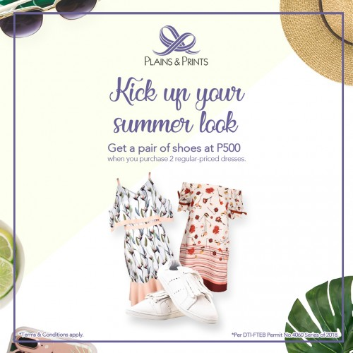 Kick Up Your Summer Look! (Ayesha Shoes Promo)