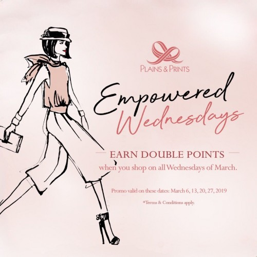 EMPOWERED WEDNESDAYS PROMO