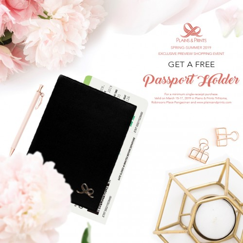 SPRING SUMMER 2019 PREVIEW GWP PROMO