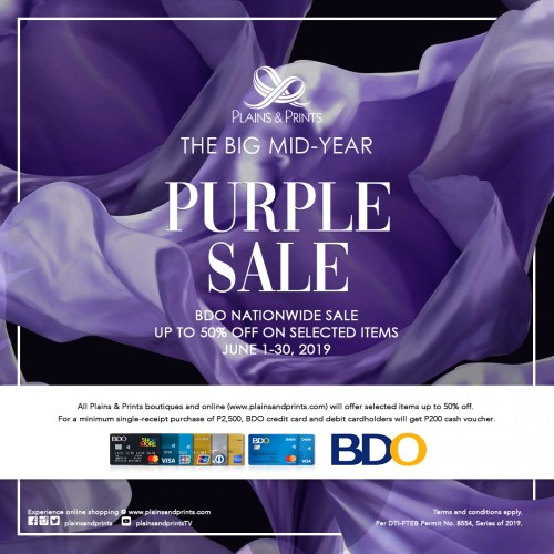 2019 NATIONWIDE PURPLE SALE