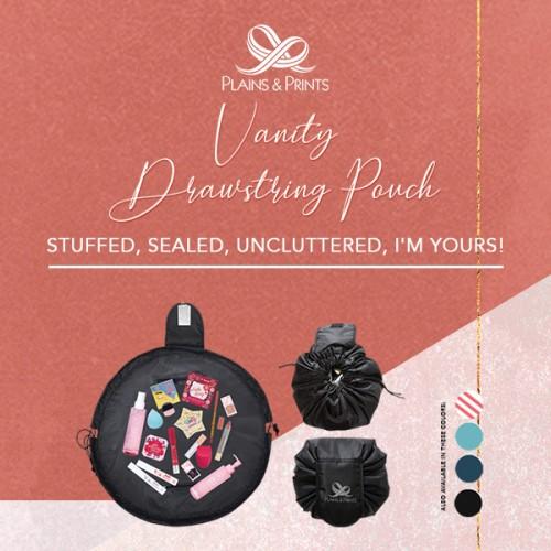 Vanity Drawstring Pouch Promo